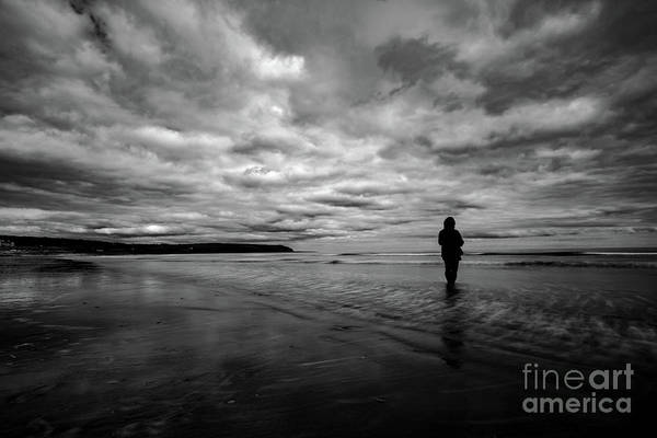 Photograph - Contemplating The Sea by Marc Daly