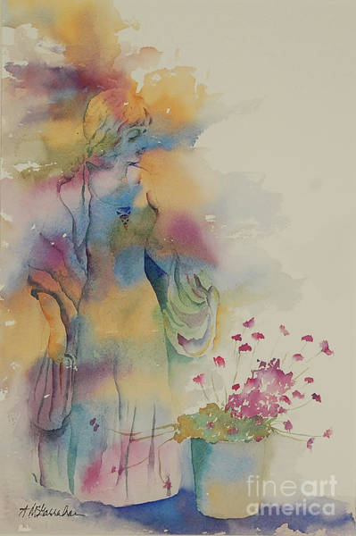 Wall Art - Painting - Contemplation by Annette McGarrahan