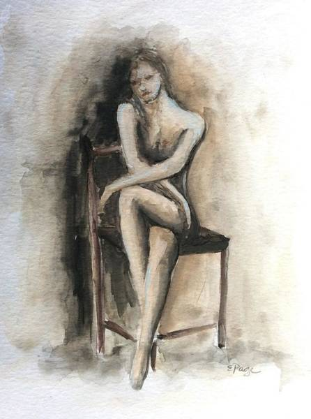 Painting - Contemplation by Emily Page