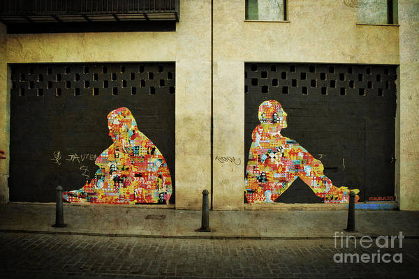 Wall Art - Photograph - Contemplation - Valencia by Mary Machare