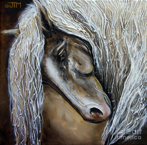 Painting - Contemplative by Jonelle T McCoy