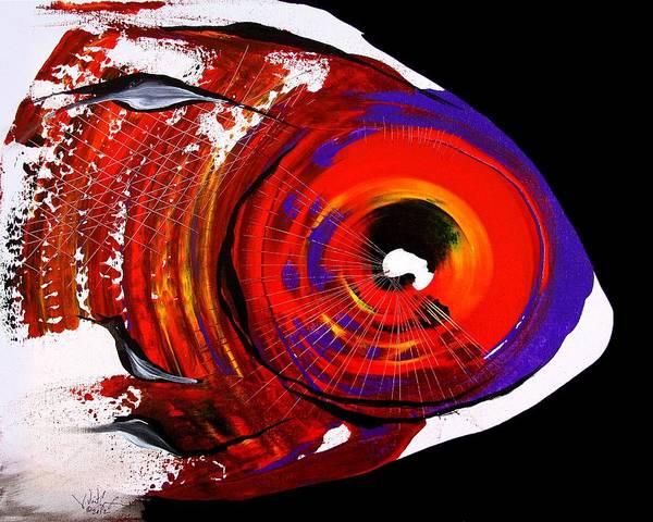 Painting - Contempo Fish by J Vincent Scarpace