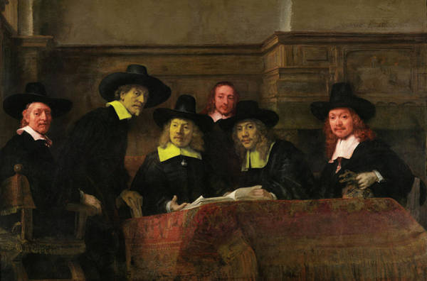 Digital Art - Contemporary 3 Rembrandt by David Bridburg