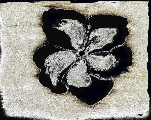 Hibiscus Flower Painting - Contemporary Hibiscus by Marsha Heiken