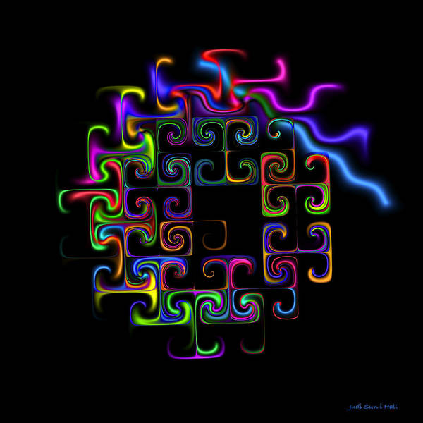 Conundrum Digital Art - Conundrum by Judi Suni Hall