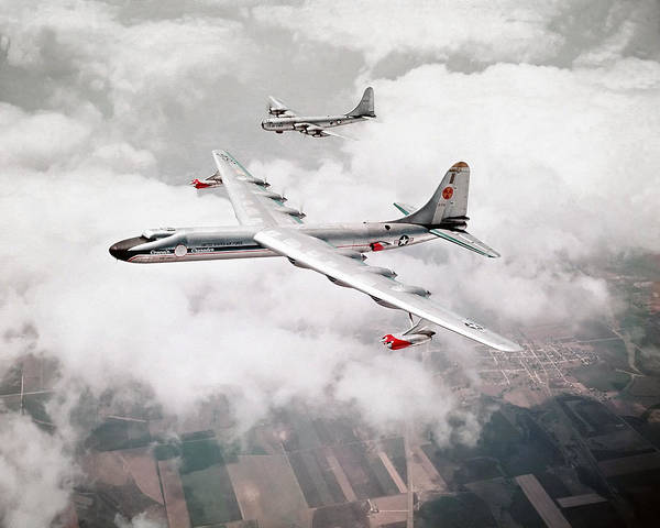 Nuclear Bomber Wall Art - Photograph - Convair Crusader - Nuclear Powered Bomber - 1955 by War Is Hell Store