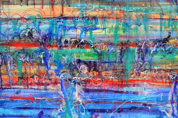 Painting - Convection Diffusion by Regina Valluzzi