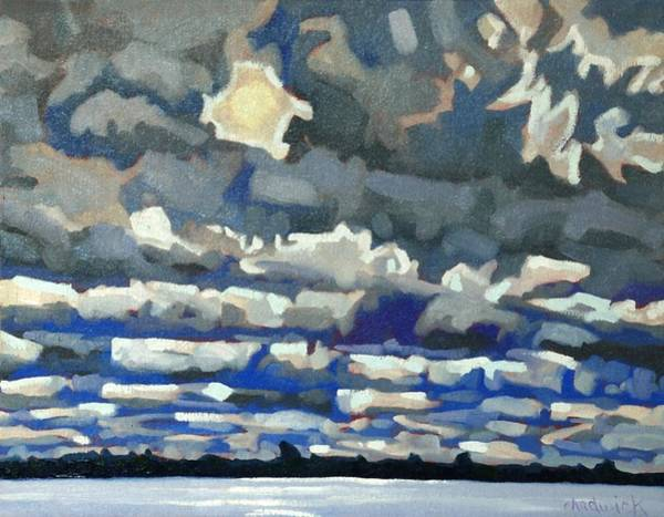 Stratocumulus Painting - Convection Killer by Phil Chadwick