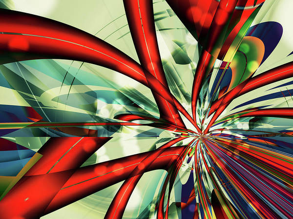 Digital Art - Convergence by Frederic Durville