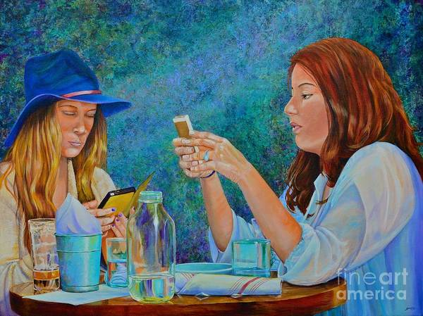 Painting - Conversations by AnnaJo Vahle