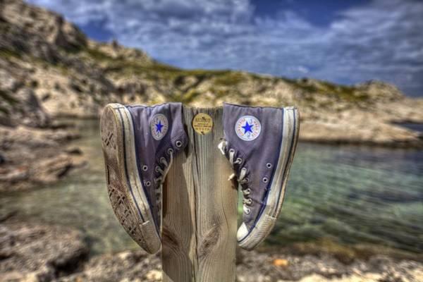 Photograph - Converses Paradise by Karim SAARI