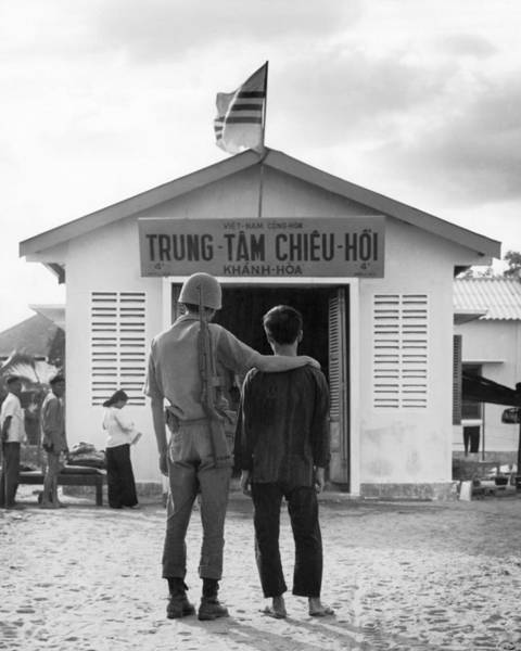 Photograph - Converted Viet Cong by Underwood Archives