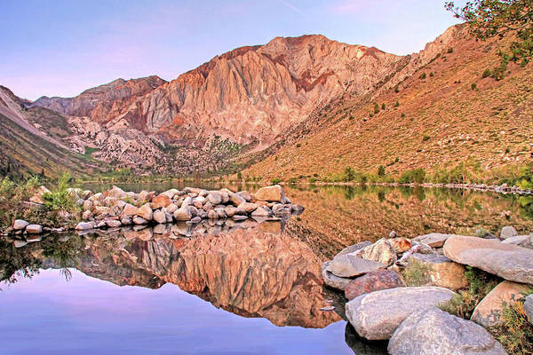 Canon 7d Photograph - Convict Lake by Donna Kennedy