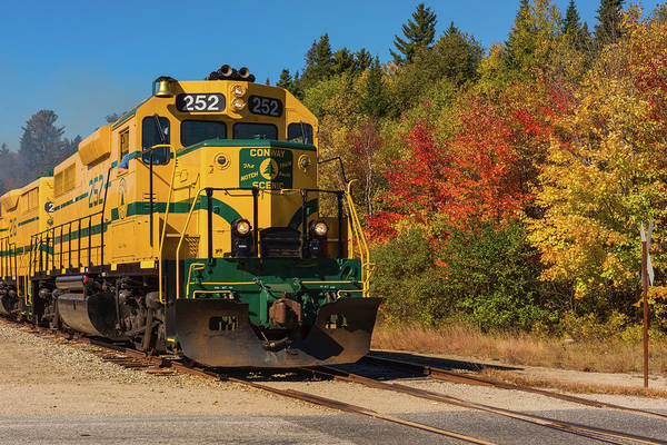 Photograph - Conway New Hampshire Scenic Railway by Brenda Jacobs