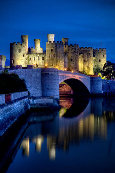 Photograph - Conwy Castle by Peter OReilly