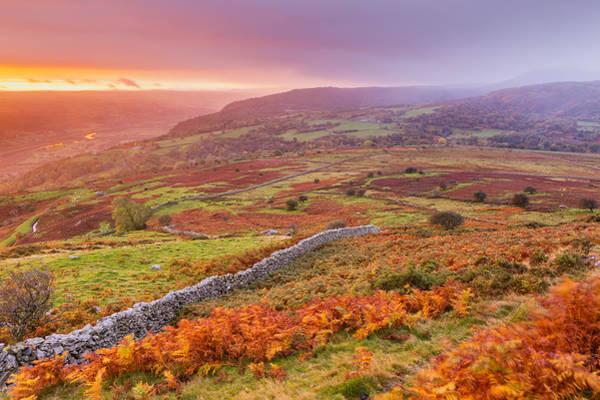Caerhun Photograph - Conwy Valley Seen From Pen-y-gaer by Sebastian Wasek