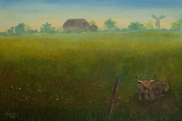 Painting - Peekaboo Coo by Elizabeth Mundaden
