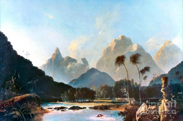 Painting - Cook: Tahiti, 1773 by Granger