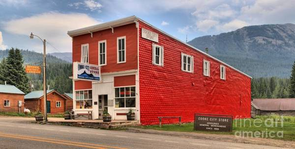 Photograph - Cooke City Mercantile by Adam Jewell