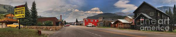 Photograph - Cooke City Montana Main Street by Adam Jewell