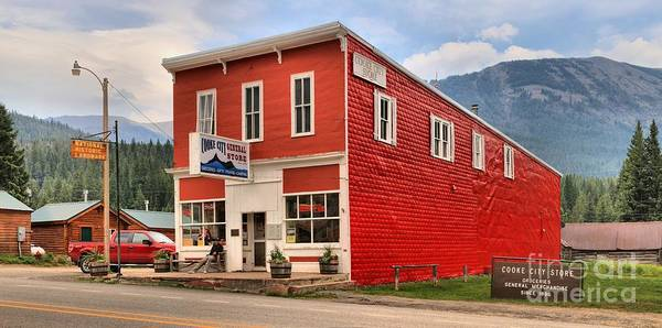 Photograph - Cooke City Store by Adam Jewell
