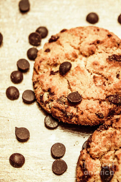 Cookie Wall Art - Photograph - Cookies With Chocolare Chips by Jorgo Photography - Wall Art Gallery
