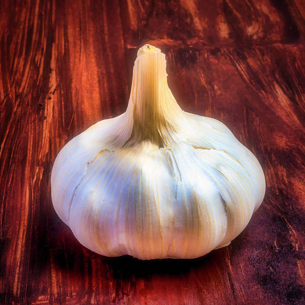 Pungent Photograph - Cooking With Garlic by Garry Gay