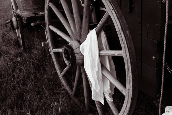 Wall Art - Photograph - Cook's Towel On The Trail by Toni Hopper