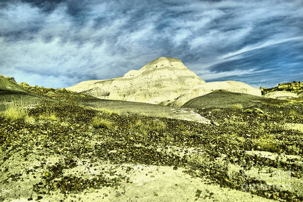 Land Of Enchantment Photograph - Cool Clouds In The Bisti Badlands by Jeff Swan