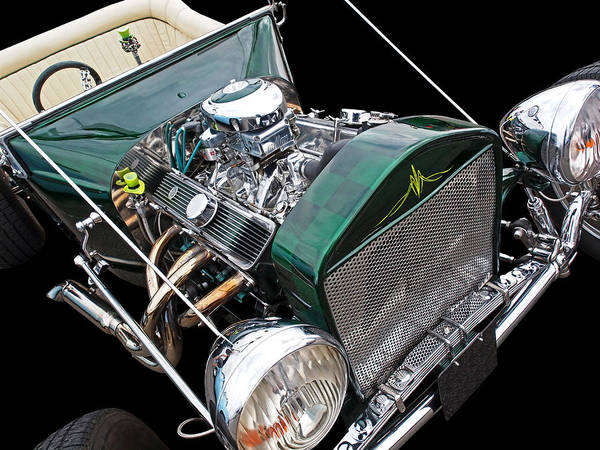 T-bucket Photograph - Cool Ford T Bucket Hot Rod by Gill Billington