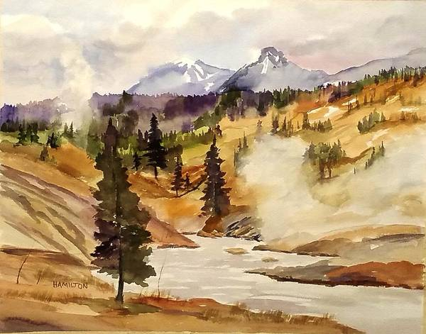 Painting - Cool Morning by Larry Hamilton