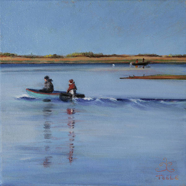 Painting - Cool Morning by Trina Teele
