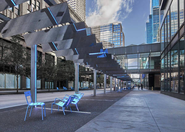Photograph - Cool New Nicollet Mall by Jim Hughes