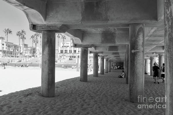 Wall Art - Photograph - Cool Off In The Shade Of The Pier by Ana V Ramirez