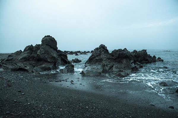 Stone Wall Art - Photograph - Cool Rocks At The Seashore by Iordanis Pallikaras