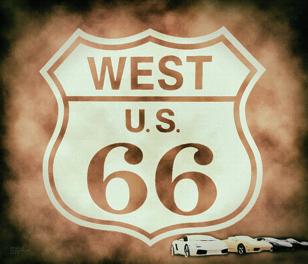 Samsung Galaxy S6 Wall Art - Photograph - Cool Route 66 by David Millenheft