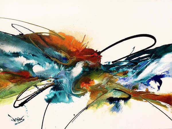 Wall Art - Painting - Cool Rush #8 by Jonas Gerard