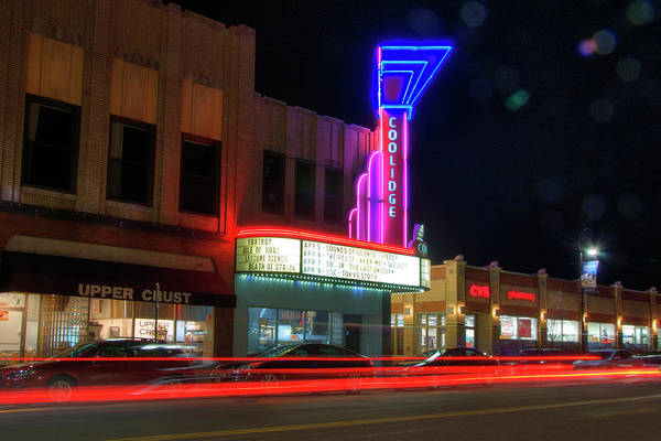 Photograph - Coolidge Corner Theatre - Brookline Ma by Joann Vitali