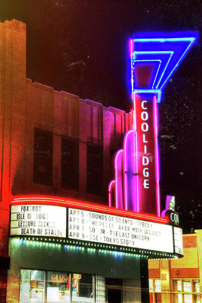 Photograph - Coolidge Corner Theatre by Joann Vitali