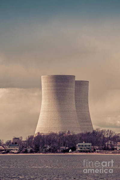 Photograph - Cooling Towers by Edward Fielding