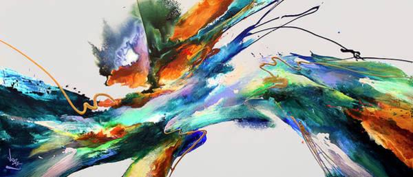 Wall Art - Painting - Cooll Rush #14 by Jonas Gerard