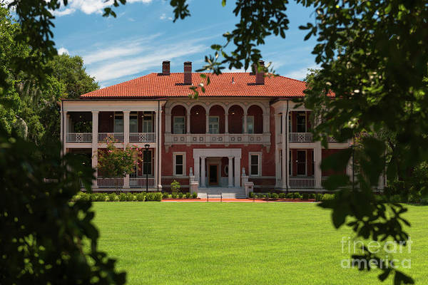 Photograph - Cooper River Mansion by Dale Powell