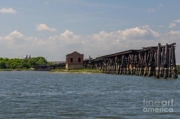 Photograph - Cooper River Terminal by Dale Powell