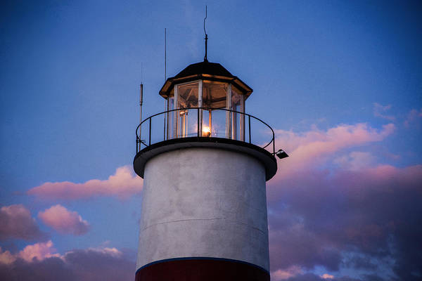 Photograph - Cooperstown Lighthouse by Don Johnson