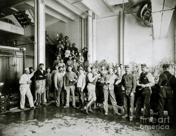 Flapper Photograph - Coors Brewing Employees by Jon Neidert