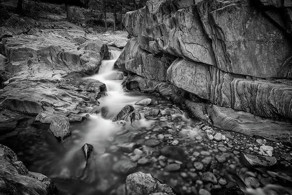 Wall Art - Photograph - Coos Canyon Maine Black And White by Rick Berk