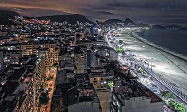 Photograph - Copacabana Lights by S Paul Sahm
