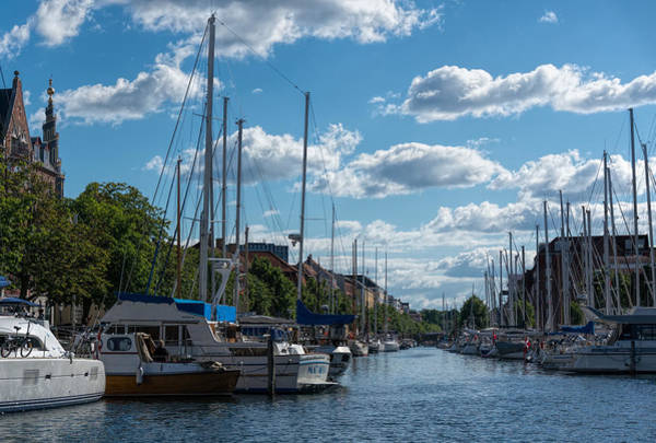 Photograph - Copenhagen Canal by Nisah Cheatham