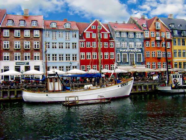 Photograph - Copenhagen - Denmark by Anthony Dezenzio