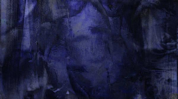 Wall Art - Digital Art - Copious Blue by James Barnes